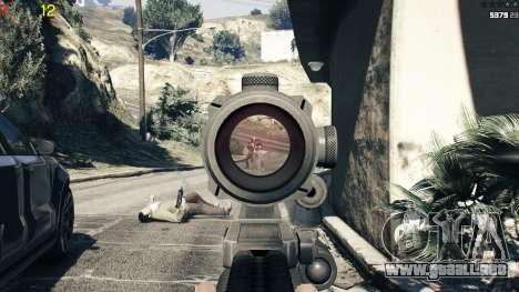 GTA 5 Gang wars 0.2 cuarto captura de pantalla