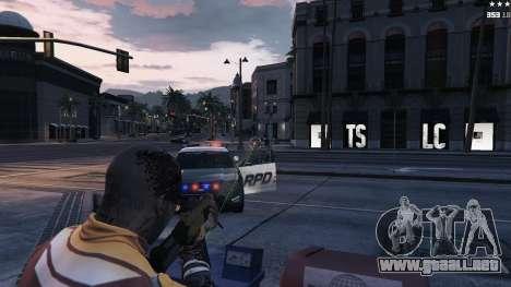GTA 5 Mira láser quinta captura de pantalla