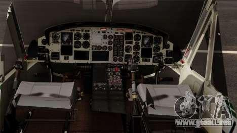 Bell UH-1N NAJA para la visión correcta GTA San Andreas