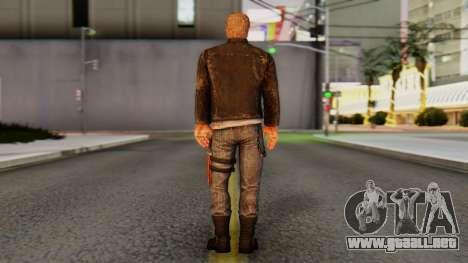 [DR3] Chuck Greene para GTA San Andreas tercera pantalla