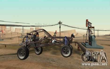New Sky para GTA San Andreas tercera pantalla