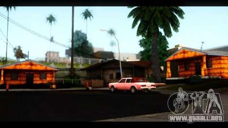 Nuevas texturas de las casas alrededor de grove  para GTA San Andreas