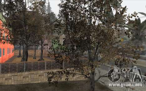 Los árboles de WarFace para GTA San Andreas tercera pantalla