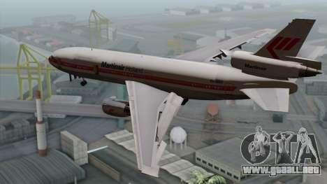 DC-10-30 Martinair para GTA San Andreas left
