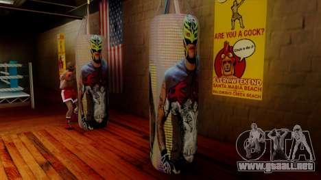 Pera con Rey Mysterio para GTA San Andreas segunda pantalla