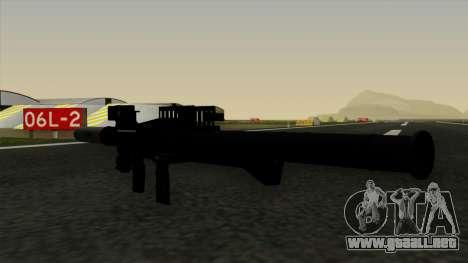 Homing Rocket Launcher para GTA San Andreas tercera pantalla