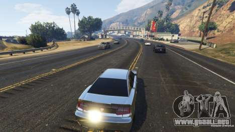 Realista de velocidad de coches de 1.3 para GTA 5