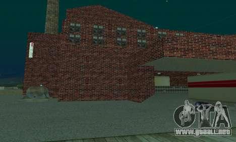 La empresa petrolera LUKOIL para GTA San Andreas segunda pantalla