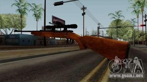 Original HD Sniper Rifle para GTA San Andreas tercera pantalla