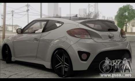 Hyundai Veloster 2012 para la visión correcta GTA San Andreas
