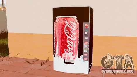 La Coca Cola De La Máquina para GTA San Andreas