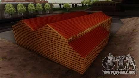 Nuevas texturas de el antiguo garaje de Doherty para GTA San Andreas quinta pantalla