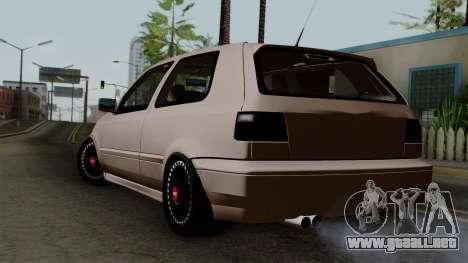 Volkswagen Golf 3 Shine para GTA San Andreas left