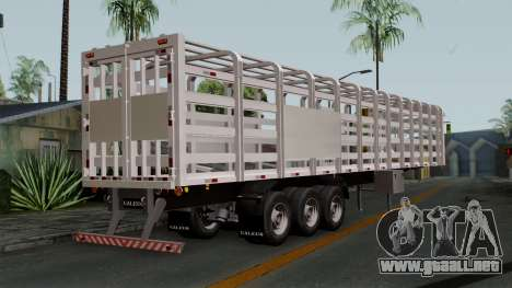 Trailer Rejas Gas para GTA San Andreas left
