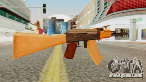 AK-74 SA Style para GTA San Andreas segunda pantalla