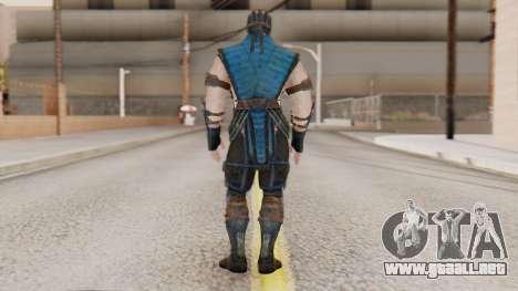 [MKX] Sub-Zero Masked para GTA San Andreas tercera pantalla