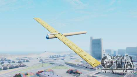 Fantástico avión para GTA San Andreas