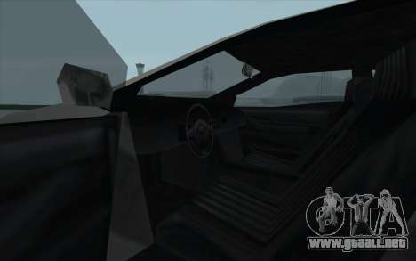 GTA 3 Infernus SA Style para visión interna GTA San Andreas