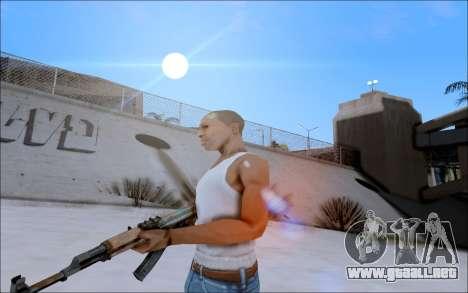 AK-47 Soviet para GTA San Andreas segunda pantalla