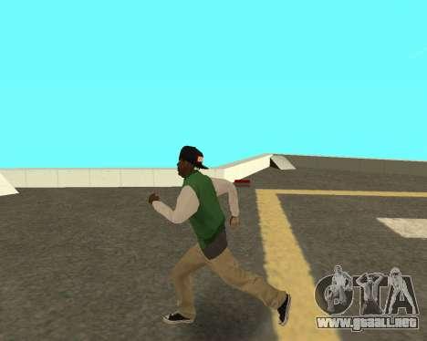 El nuevo chico en el bloque de grove Street para GTA San Andreas tercera pantalla