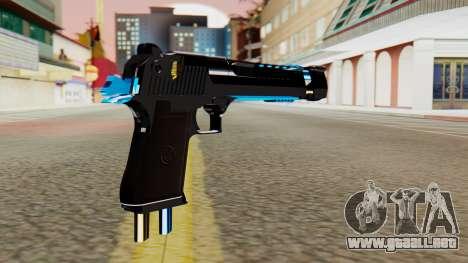 Fulmicotone Desert Eagle para GTA San Andreas segunda pantalla