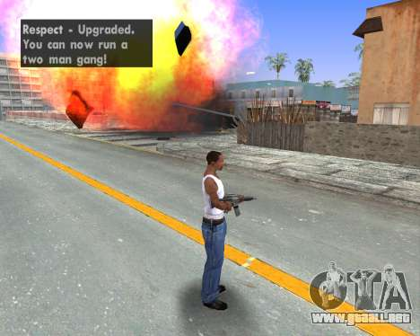 Blood Effects para GTA San Andreas quinta pantalla