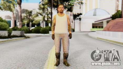 [GTA5] The Lost Skin6 para GTA San Andreas segunda pantalla