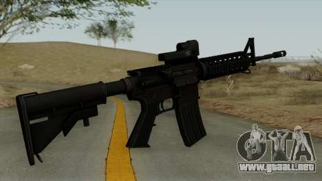 AR-15 Trijicon para GTA San Andreas segunda pantalla
