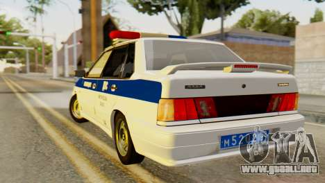 VAZ 2115 DPS para GTA San Andreas left