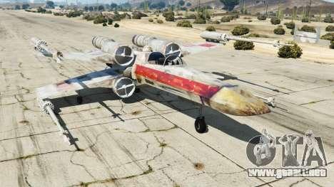 X-wing T-65 v1.1 para GTA 5