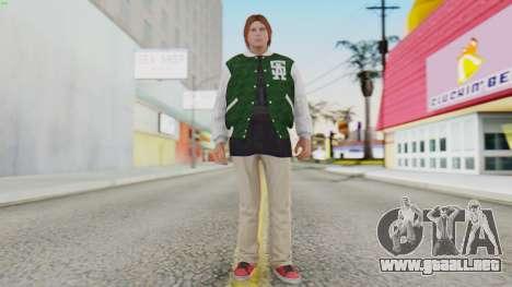 [GTA5] Families Member para GTA San Andreas segunda pantalla