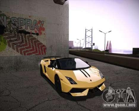 Professional Graphics Mod 1.2 para GTA San Andreas segunda pantalla