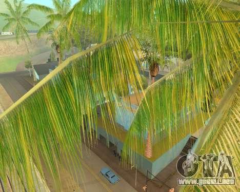 Árboles de palma de Crysis para GTA San Andreas segunda pantalla