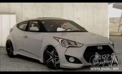 Hyundai Veloster 2012 para el motor de GTA San Andreas