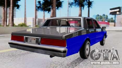Chevrolet Caprice 1980 SA Style Civil para GTA San Andreas left