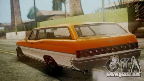 GTA 5 Dundreary Regina para GTA San Andreas left