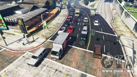 Realista, llenando las calles y carreteras 8GBRA para GTA 5