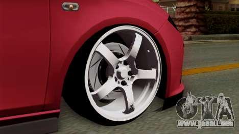 Seat Leon Cupra Static para GTA San Andreas vista posterior izquierda