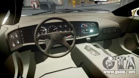 Jaguar XJ220 1992 [EPM] Martini para GTA 4 vista hacia atrás