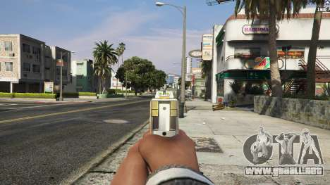 GTA 5 Asiimov Pistol.50 sexta captura de pantalla