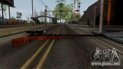 Original HD Sniper Rifle para GTA San Andreas segunda pantalla