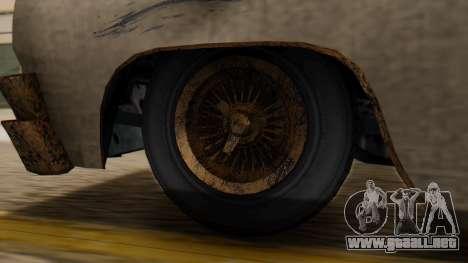 GTA 5 Declasse Voodoo Worn IVF para GTA San Andreas vista posterior izquierda