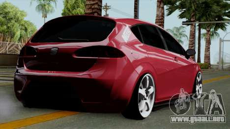 Seat Leon Cupra Static para GTA San Andreas left