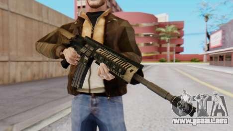 M4A1 Magpul para GTA San Andreas segunda pantalla