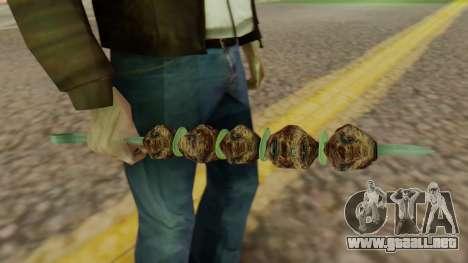Skewer para GTA San Andreas segunda pantalla