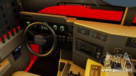 Hummer H1 1993 Baja Edition para la visión correcta GTA San Andreas