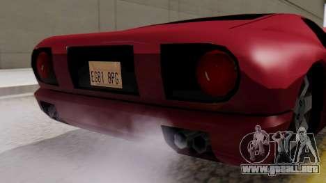 Bala Al_Piso para la visión correcta GTA San Andreas