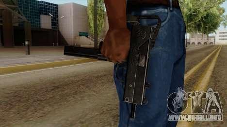 Original HD Micro SMG para GTA San Andreas tercera pantalla