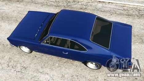 GTA 5 Chevrolet Opala Gran Luxo vista trasera