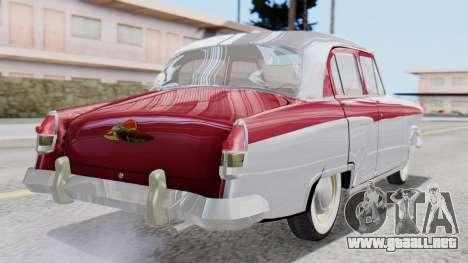 GAZ 21 Volga v2 para GTA San Andreas left